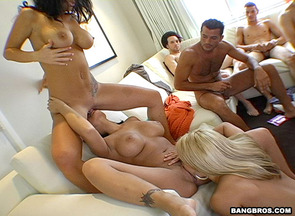 Eva Angelina,Ashlynn Brooke y Jayden James y desconocido
