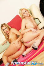 Sesi�n de fotos de un l�sbico con Kelly Broox y Kelly Wells, foto 6
