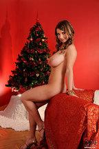 Fotos navideñas con la tetona Katerina Hartlova, foto 16