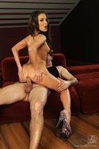 Leslie Taylor saborea y penetra el coñito de Anita Berlusconi, foto 14