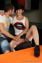 Netta Jade disfrutando de un anal con Oliver Strelly, foto 2