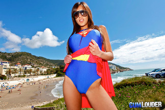 Supergirl Fayna Vergara en un anal con Moisex, foto 2