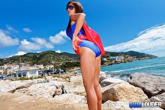 Supergirl Fayna Vergara en un anal con Moisex, foto 3