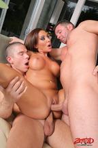 Trío con Mick Blue, David Perry y Adriana Deville, foto 9