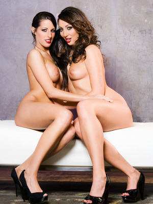 Kortney Kane y Angelica Saige