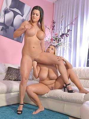 Krystal Swift y Chloe Lamour