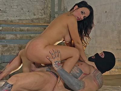 Claudia Bavel y Rob Diesel