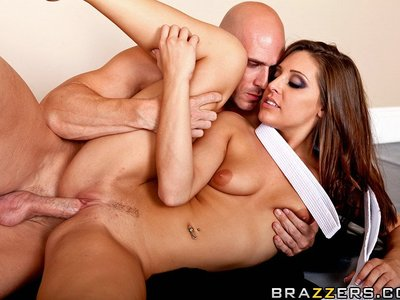 Gracie Glam y Johnny Sins