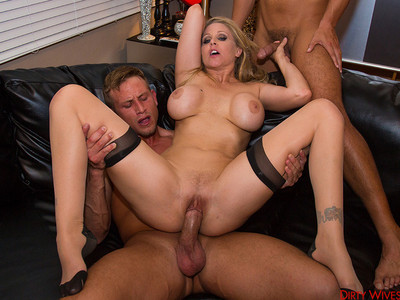 Julia Ann,Rocco Reed y Bill Bailey