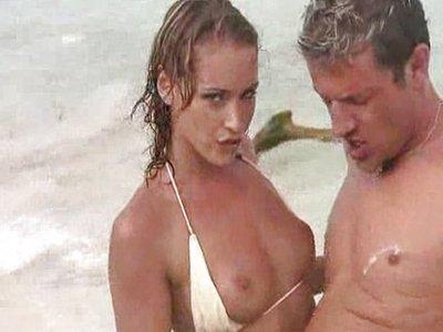 Kathia Nobili y Joe Monti