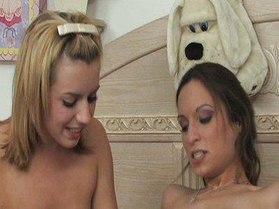 Amber Rayne y Lexi Belle y Sergio