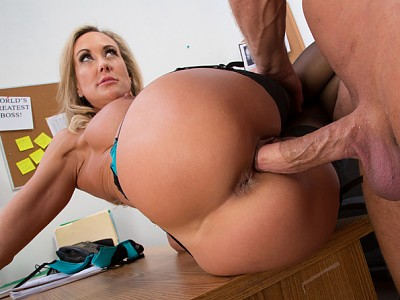 Brandi Love y Bill Bailey