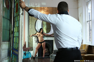 Craig Farrel se corre en las tetas de Kyra Hot, foto 4