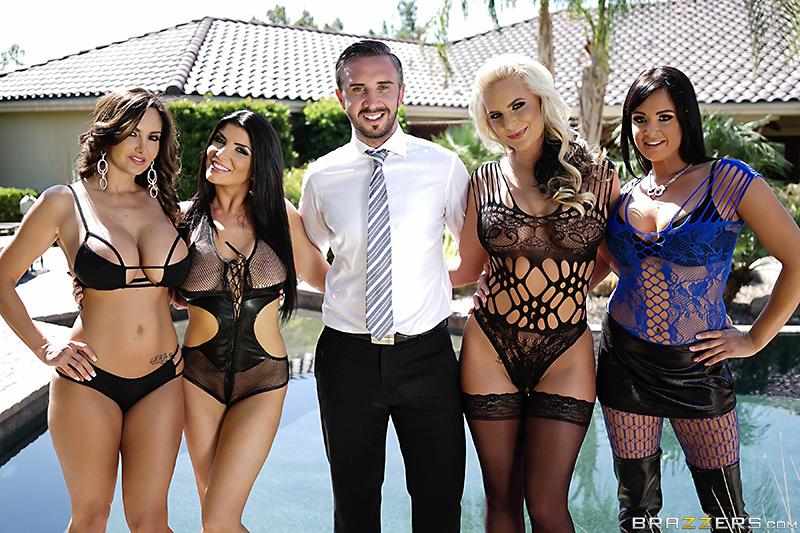 Tory Lane,Phoenix Marie,Romi Rain y Ava Addams,Tommy Gunn,Ramon Nomar y Xander Corvus, foto 4