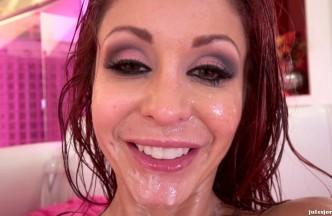 Monique Alexander embadurnada en aceite en un anal con Erik Everhard, foto 20