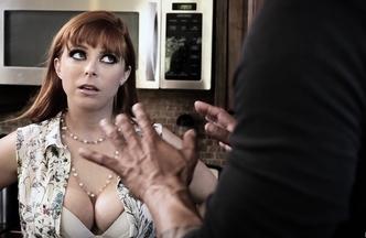 Penny Pax metiéndose el rabo de Carlo Carrera mientras Hef Pounder mira como se la follan, foto 7