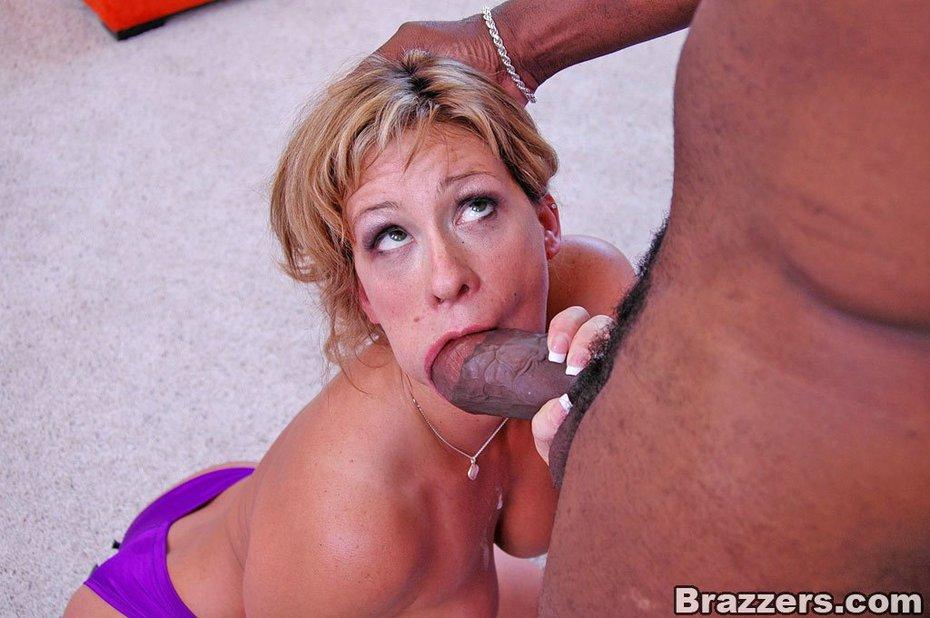 Black and blonde porn
