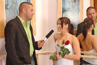 Sexo fetiche en el gimansio con Aleska Diamond y Thomas Stone, foto 2