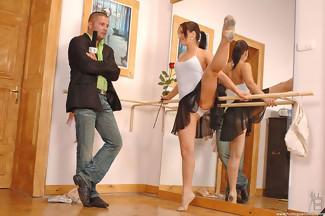 Sexo fetiche en el gimansio con Aleska Diamond y Thomas Stone, foto 3