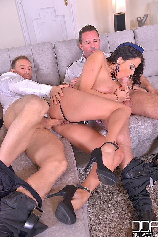 Anissa Kate,David Perry y Erik Everhard, foto 8