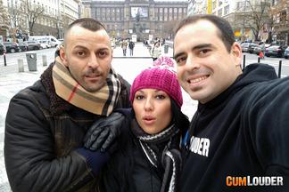 Valentina Sweet protagonista de un trío en praga, foto 1