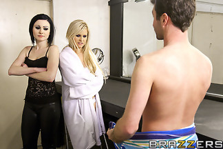 Veruca James y Kelly Surfer en un trío con James Deen, foto 6